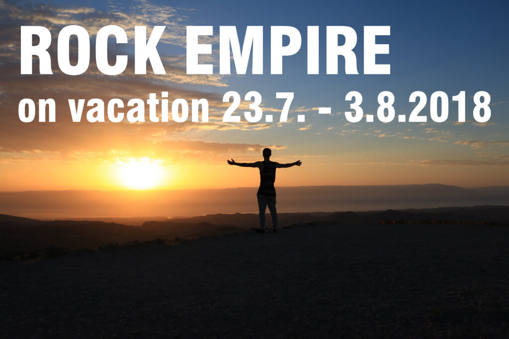 Rock Empire on vacation