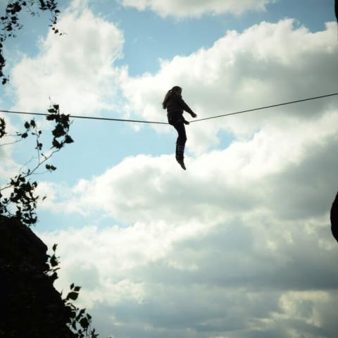 GIRLS ONLY Slackline Festival